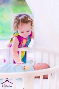 تیپ دختر بچه 2 ساله